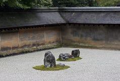 Kyoto Ryoan-ji Royalty Free Stock Image