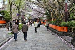 Kyoto Sakura Photographie stock