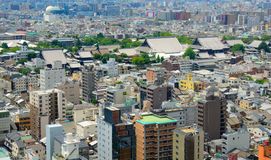 Kyoto Skyline Royalty Free Stock Photography