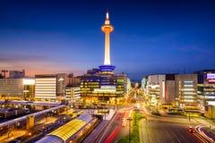 Kyoto Skyline Stock Image