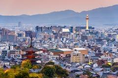 Kyoto Skyline Stock Images