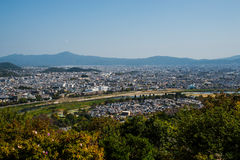 Kyoto Skyline Stock Images