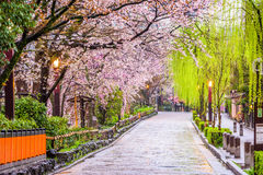 Kyoto in Spring Stock Image