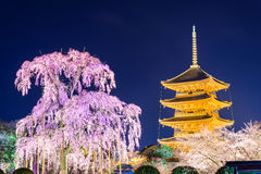 Kyoto in Spring Stock Photography