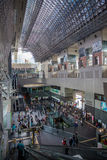 Kyoto stacja jest Japonia 2nd dworcem Fotografia Royalty Free