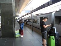 Kyoto stacja kolejowa Zdjęcie Royalty Free
