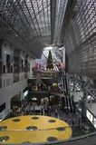 Kyoto stacja przy bożymi narodzeniami, Japonia Fotografia Royalty Free