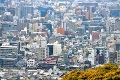 Kyoto-Stadt-Ansicht - Kawaramachi Gojo - Kyoto Japan Lizenzfreies Stockbild