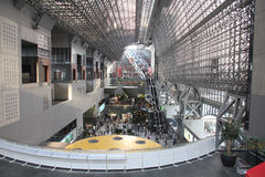 Kyoto station Stock Photos