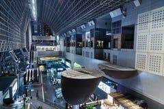Kyoto station Royaltyfri Foto