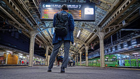 Kyoto-Station Stockfoto