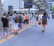 Kyoto station busy life Japan  Stock Photo