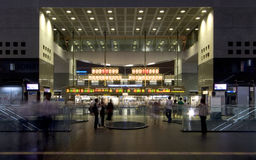 Kyoto-Station-Eingang Stockfotos