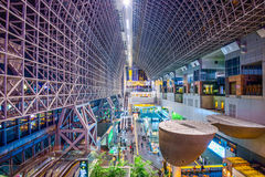 Kyoto Station Interior Royalty Free Stock Photography