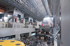 Kyoto station, Japan Royalty Free Stock Photos