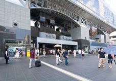 Kyoto station, Japan Stock Photos