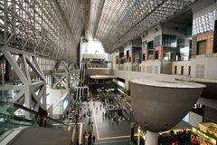 Kyoto station.Japan Royalty Free Stock Image