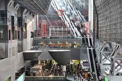 Kyoto Station Royalty Free Stock Photography
