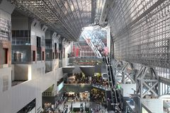 Kyoto Station Stock Images