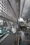 Kyoto Station in Japan Stock Photo