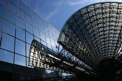 Kyoto station Japan Royalty Free Stock Image
