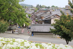 Kyoto street view Stock Photography