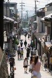 Kyoto-Streetscape stockfoto