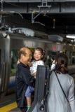 Kyoto subway Royalty Free Stock Photography