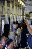 Kyoto subway Royalty Free Stock Photo