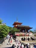 Kyoto-Tempel Lizenzfreies Stockfoto