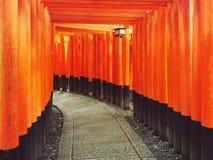 Kyoto tempel Royaltyfria Bilder