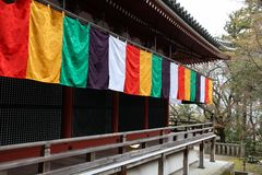 Kyoto temple Stock Image