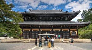 Kyoto temple at Japan royalty free stock photos