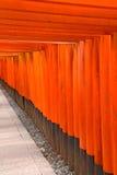 Kyoto Tori gates Stock Photography