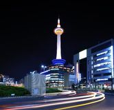 Kyoto Tower Stock Image