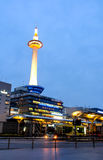Kyoto tower with dusk sky, Kyoto, Japan 5 Royalty Free Stock Image