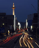 Kyoto Tower - Japan. Kyoto Tower in the Japanese city of Kyoto Stock Photo