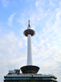 Kyoto tower japan Stock Photography