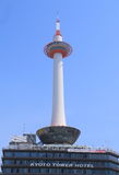 Famous Kyoto Tower Japan  Royalty Free Stock Photos