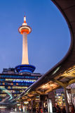 Kyoto Tower Japan Royalty Free Stock Photography