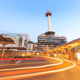 Kyoto Tower Stock Images