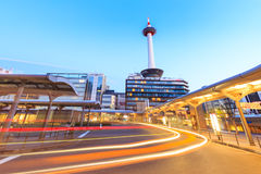 Kyoto Tower Royalty Free Stock Photos