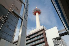 Kyoto Tower, Japan Royalty Free Stock Image