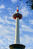 Kyoto tower, Japan Royalty Free Stock Photography