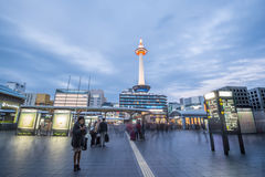 Kyoto tower Royalty Free Stock Photography