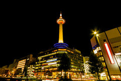 Kyoto Tower. Royalty Free Stock Image