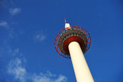Kyoto Tower in Kyoto Stock Image