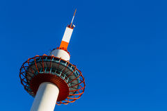 Kyoto Tower in Kyoto. Royalty Free Stock Photo