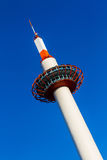 Kyoto Tower in Kyoto. Royalty Free Stock Image