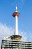 Kyoto Tower in Kyoto Stock Photo